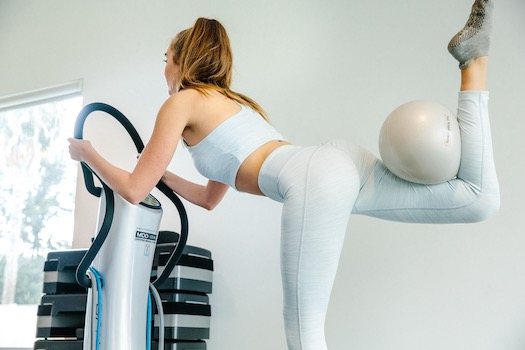 HIIT-FIT (Glutes/Abs) – Vibration Training workout image.