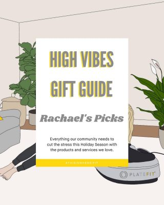 #HighVibesGiftGuide  First up, Rachael's Top Picks!  Swipe 👉 for all of her go to brands, books & shops! Check out our stories for more 🎁